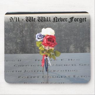 9/11 que nunca olvidaremos mouse pads