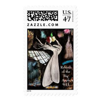 9 / 11  Rebirth of Big Apple  Postage