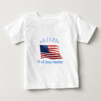 9-11 recordaremos siempre playera de bebé