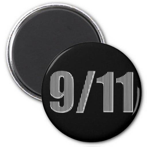 9/11 recuerde imán para frigorífico