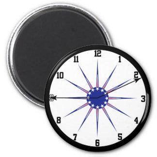 9-11 reloj - imán