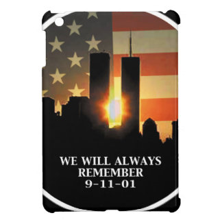 9-11 remember - We will never forget Case For The iPad Mini