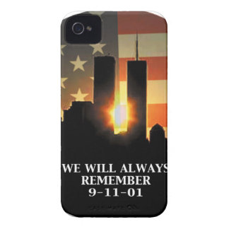 9-11 remember - We will never forget iPhone 4 Case