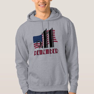9/11 REMEMBER with American Flag Tshirts