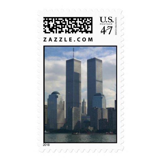 9/11 sello conmemorativo