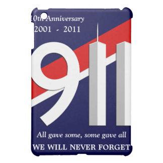 9 11 - September 11th - 10th Anniversary iPad Case