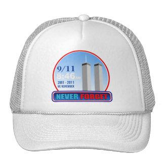 9/11 September 11th - We Remember Baseball Cap Trucker Hat