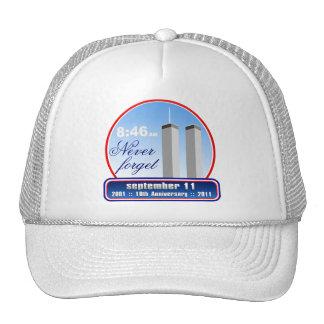 9/11 September 11th - We Remember Baseball Cap Hat