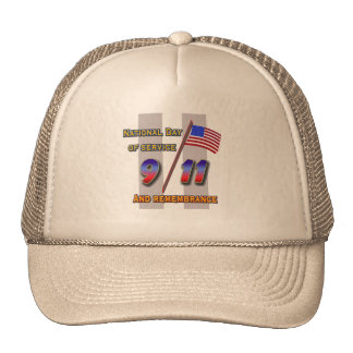 9 11 Service and Remembrance hat