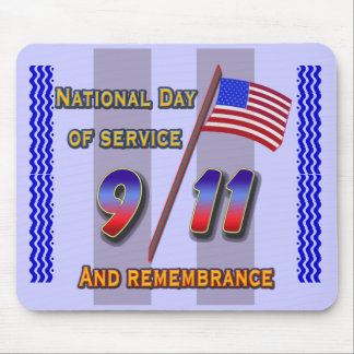 9 11 service and remembrance,  mousepad