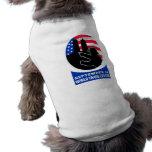 9-11 torre gemela de la bandera americana del bomb ropa de perros