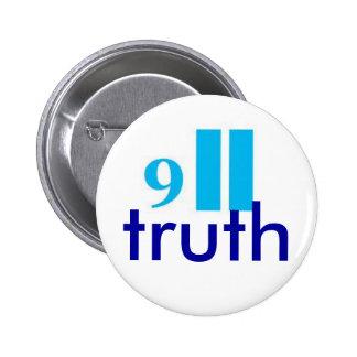 9-11 truth button-badge button