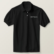 9/11 Truth Embroidered Polo Shirt