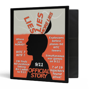 9-11 Truth Official Story Lies Binder