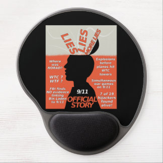 9-11 Truth Official Story Lies Gel Mouse Pad