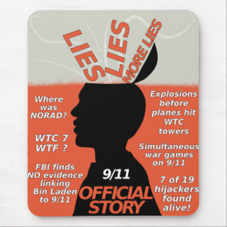 9-11 Truth Official Story Lies Mouse Pad