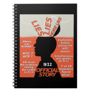 9-11 Truth Official Story Lies Notebook
