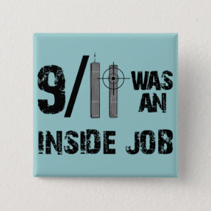 9-11 Truth Official Story Lies Pinback Button