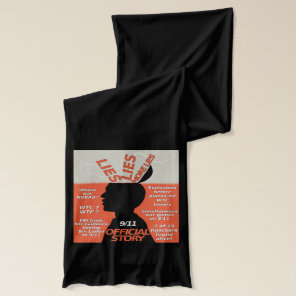 9-11 Truth Official Story Lies Scarf