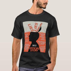 9-11 Truth Official Story Lies T-Shirt