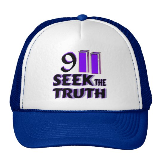 9/11 Truther Trucker hat