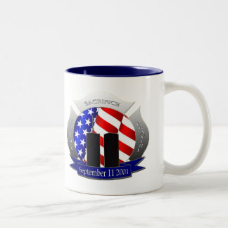 9/11 Two-Tone COFFEE MUG