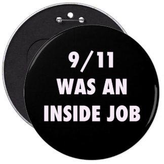 9 11 WAS AN INSIDE JOB BUTTON