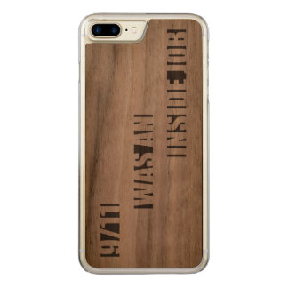 9/11 was an inside job carved iPhone 8 plus/7 plus case
