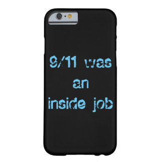 9/11 was an inside job iPhone 6 hard Case Barely There iPhone 6 Case