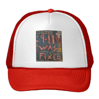 9-11 was fixed blue hat