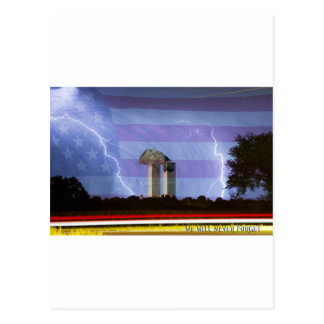 9-11 We Will Never Forget Poster Post Cards