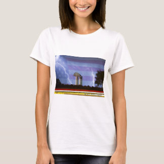 9-11 We Will Never Forget Poster T-Shirt