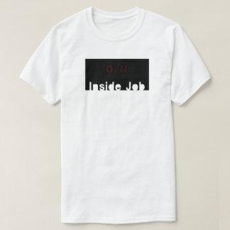 9/11 window Inside Job T-Shirt
