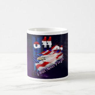 9-11I nunca olvidará las tazas