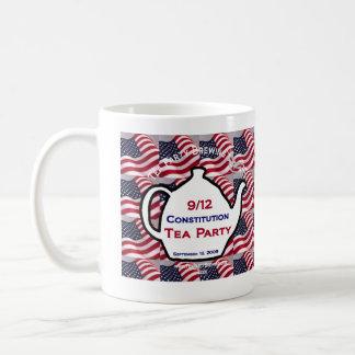 9.12 Constitution Tea Party 2009 Coffee Mug
