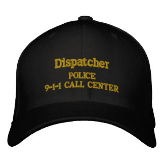 9-1-1 CALL CENTER POLICE DEPT. EMBROIDERED BASEBALL HAT
