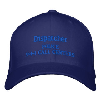 9-1-1 CALL CENTERS POLICE DEPT. EMBROIDERED BASEBALL CAP