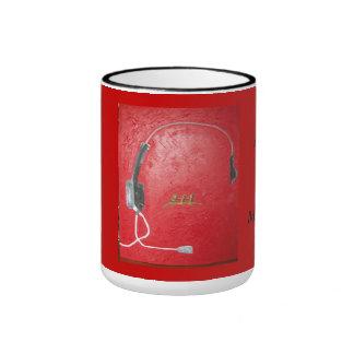 ...9-1-1- call centers ringer mug