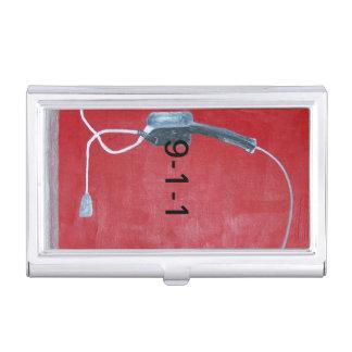 9-1-1 centro de atención telefónica cajas de tarjetas de visita