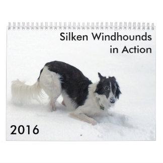 9 2016 Windhounds de seda en calendario de la