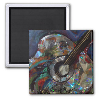 9-26-08 339, Art of Hope 2 Inch Square Magnet