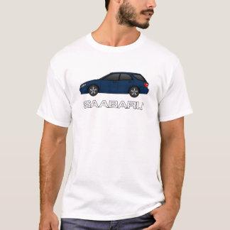 9-2X linear dark blue T-Shirt
