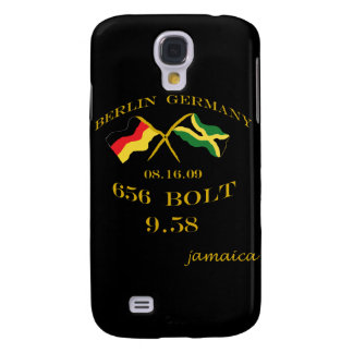 9.58 Jamaica Olympic Speckcase Galaxy S4 Cover