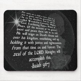 9:6 de Isaías - 7 a nosotros un niño nace - Jesús Tapete De Ratón