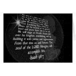 9:6 de Isaías - 7 a nosotros un niño nace - Jesús Tarjetas