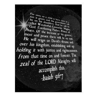 9:6 de Isaías - 7 a nosotros un niño nace - Jesús Postales