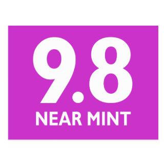 9.8 NEAR MINT POSTCARD
