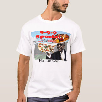 9 9 9 plan Herman Cain T-Shirt