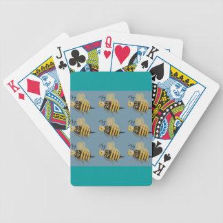 9 abejorros baraja cartas de poker