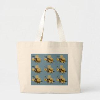 9 abejorros bolsa tela grande